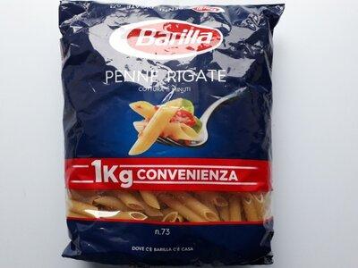 Итальянские макароны Barilla Penne Rigate, 1кг
