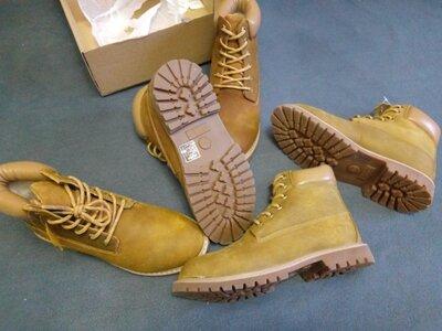 Женские зимние кожаные ботинки размер 39 можно подростковые