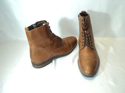 Кожаные стильные ботинки от Pier One , р 43 29,5 см
