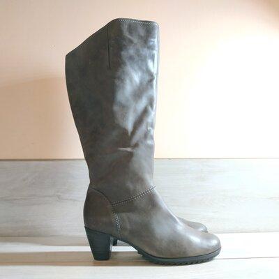 Кожаные женские фирменные сапоги от Gabor 39 р - Новые -оригинал