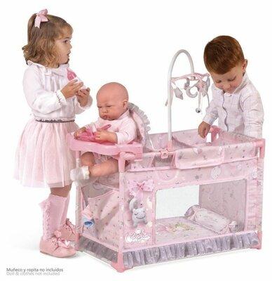 Продано: Манеж кроватка decuevas 53134 для пупса игрушка с стульчиком