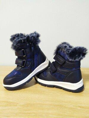 Зимние ботинки, дутики для девочки