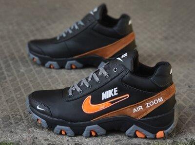 Продано: Мужские зимние кожаные ботинки Nike Зима 2020/2021