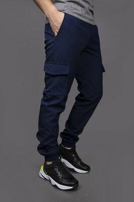 Теплые мужские штаны М-5353