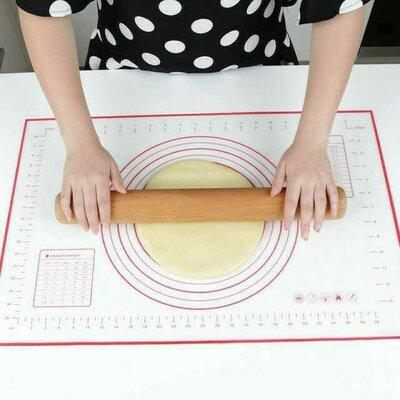 Силиконовый коврик для раскатки теста 60 40см.