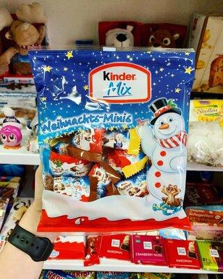 Вкуснейшие конфеты Kinder Minis в новогоднем дизайне