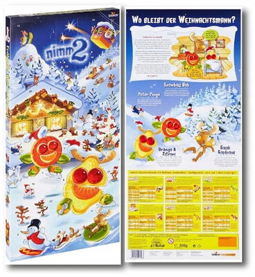 Адвент календарь Nimm 2 Advent Calendar 300 g