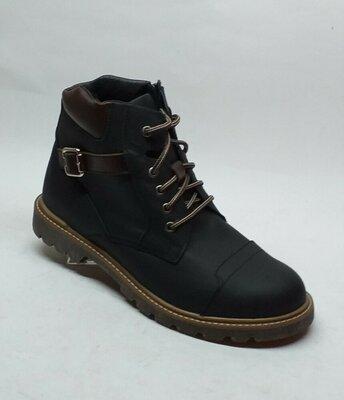 Мужские кожаные ботинки Мида 14802
