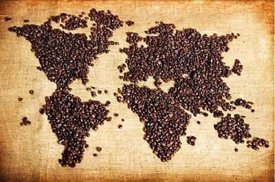 Кофе Колумбия Супремо, чистая арабика, свежая обжарка.