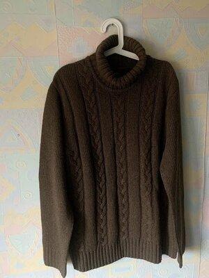 Продано: Новый мужской свитер в косы Ostin 52-54