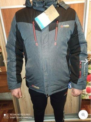 Мужская зимняя куртка Columbia omni-heat Новинка