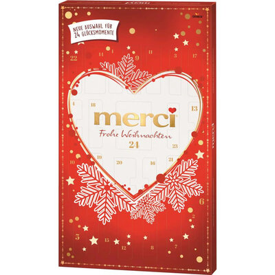 Адвент календарь Merci Advent Calendar 250 g