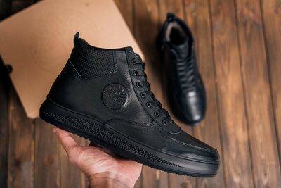 Продано: Мужские кожаные зимние ботинки Timberland