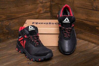 Продано: Мужские кожаные зимние кроссовки Reebok, мужские ботинки, зимние кроссовки