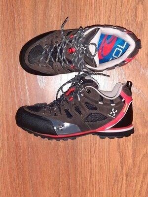 Треккинговые ботинки кроссовки haglofs с gor-texом еврозима