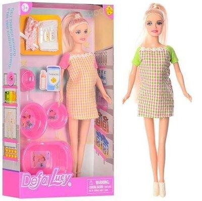 Продано: Кукла DEFA беременная