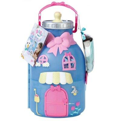 Zapf Домик для пупсов Беби Борн и пупсик беби борн сюрприз 904145 Baby Born Surprise Baby Bottle Hou
