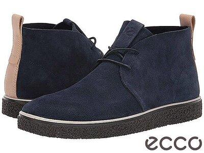 Кожаные ботинки дезерты экко ecco crepetray оригинал р.44 новые