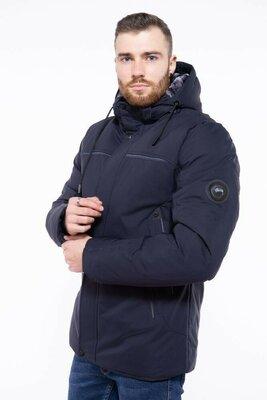 Чоловіча зимова тепла довга куртка мужская зимняя тёплая длинная куртка пуховик