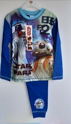 4-6 лет Любителям Звездных войн Отличная пижамка из Англии