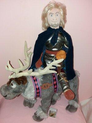 Лот 2 игрушки олень Свен и Кристофер персонажи из мультфильма Дисней Disney