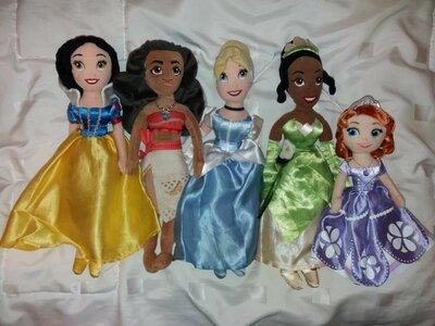 Лот 5 принцесс 35 см из мультфильмов Дисней Disney