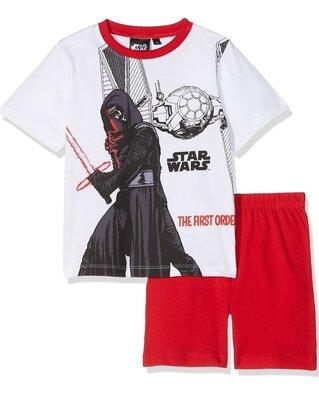 Пижама с шортами хлопковая звёздные войны star wars 104 и 128 см
