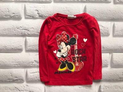 Disney стильный реглан на девочку 3 года