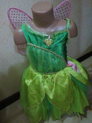 Платье disney фея Динь-Динь 5-6 лет