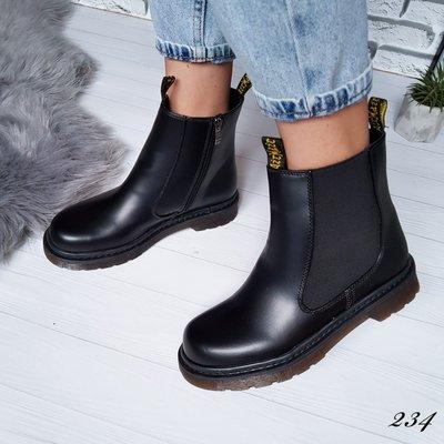 Ботинки черные женские деми