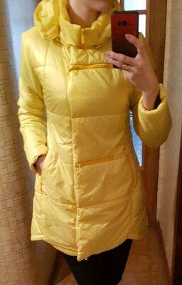 Куртка жёлтая женская