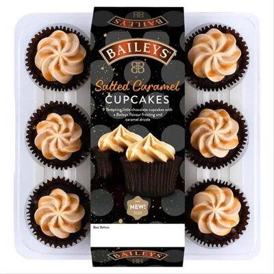 Капкейки Baileys Cupcakes Salted Caramel 9s