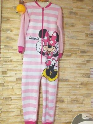 Продано: Пижама слип с Минни Маус на 7-8лет