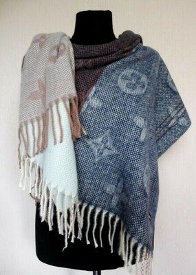 Скидка всего 300 грн Палантины тёплые шарфы зимние