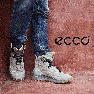 Продано: Кожаные ботинки экко ECCO EXOSTRIKE оригинал р.44,46 Новые Таиланд