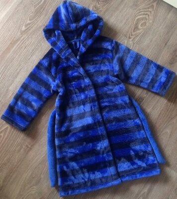 Фирменный халат-меховушка Marks&Spencer, 2-4 года