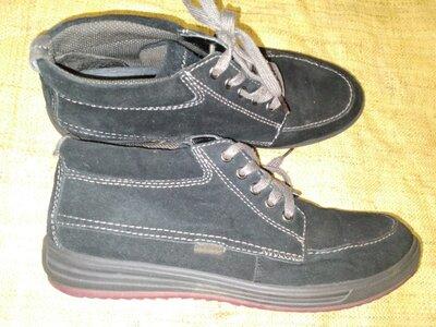 41р-27 см замша ботинки Gabor есть дефект, сделант ремонт фото 3 ширина стельки 9 высота