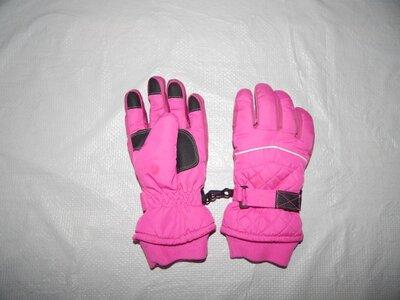 Продано: 3-6 лет, Термо перчатки теплые краги Tu