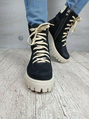 Хит продаж. Стильные женские ботинки ботинки зимние