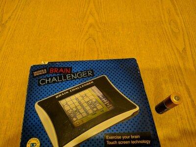 Brain Challenger. Marks&Spenser