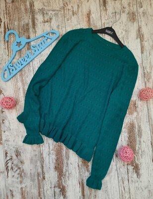 Продано: Ажурный свитер M&S