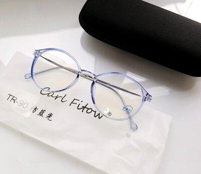 Продано: Компьютерные круглые очки Bluray Blue Light TR 8218 в ассортименте - Футляр в комплекте