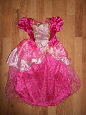 Карнавальное платье принцесса Аврора - на 3-5 лет