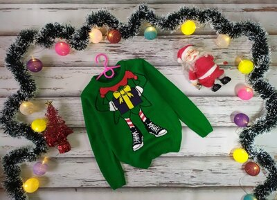 6-7 лет Новогодний свитер George