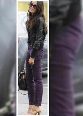 Актуальные трендовые стрейчевые зауженные джинсы / брюки с высокой посадкой next