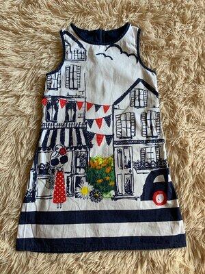 Платье george 5-6 лет /сукня
