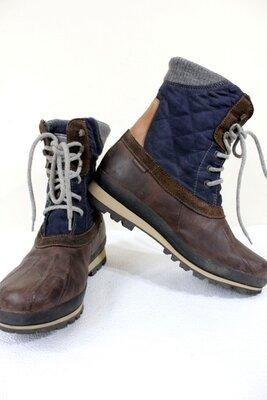 Продано: Кожаные ботинки снегоходы Napapijri Waterproof унисекс