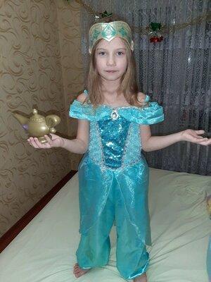 Карнавальный костюм Принцесса Жасмин 7-8 лет.