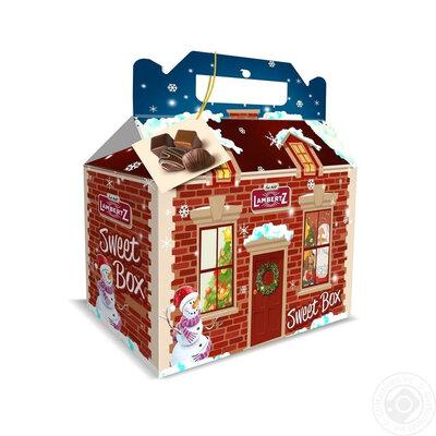 Пряники-Конфетки в шоколаде Lambertz sweet box 400 g