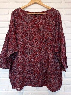 Натуральная блуза большого размера 20p